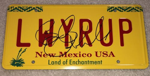 BOB ODENKIRK SIGNED AUTOGRAPH BETTER CALL SAUL LICENSE PLATE w/EXACT PROOF