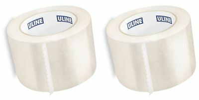 Uline Industrial Shipping Packing Tape 3 X 110 Yards 2.0 Mil - Clear 2 Pack