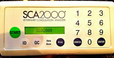 Synbiotics Sca 2000 Coagulation Analyzer