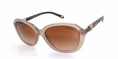 e6dca88211c6 TIFFANY   CO. Sand Honey Brown Sunglasses TF 4108B 4108 Womens w  BLUE CASE
