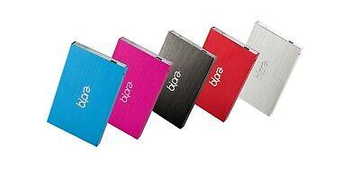 """Ultra Slim External 2.5"""" Hard Drive USB 2.0 160GB 250GB 320GB  Cheap under £20"""