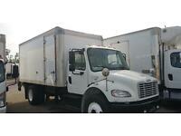 2014 Freightliner 16ft box truck Cummins diesel Ford GMC International 26k GVw