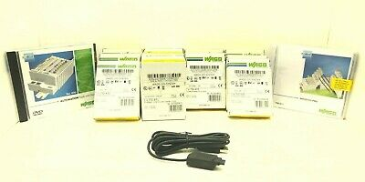 Wago Innovative System Kit Plc 750-455 750-530 750-430 750-871 Usb
