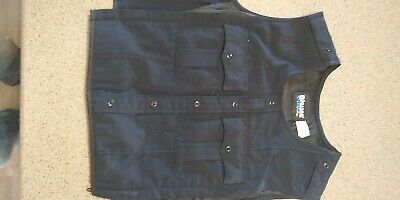 Used BLAUER 8470 WOOL ARMORSKIN VEST OUTER ARMOR CARRIER DARK NAVY S/M Tall