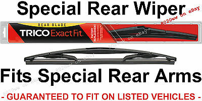 Trico 10 E Rear Wiper Blade For Snap Claw Rear Wiper Arm Suv Wagon Crossover 10E