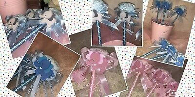 Baby Shower Elephant Pens Favors It's a Boy/ It's a Girl 12 pieces