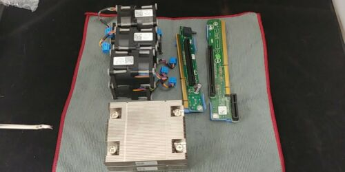DELL POWEREDGE  R420 CPU PROCESSORS UPGRADE KIT RISER FAN HEATSINK