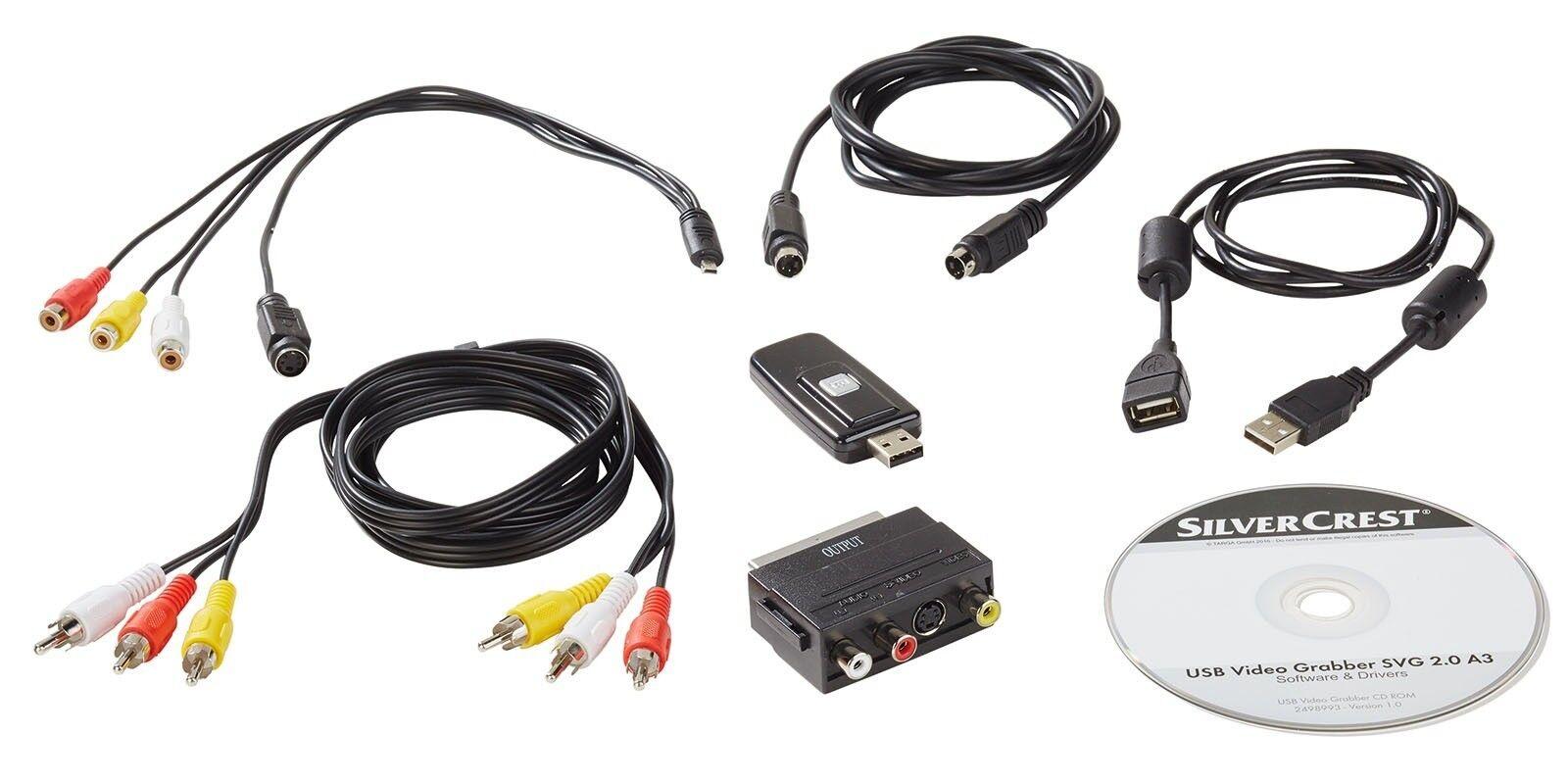 Video Grabber Digitalisierungsgerät USB + Videobearbeitungssoftware. NEU & OVP