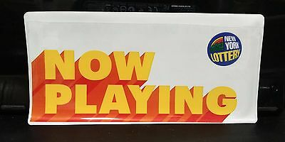 New York State Lottery Play Slip Ticket Holders New Never Used