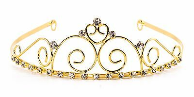 Royal Elegance Halloween Costume (Crown Tiara Halloween Costume Elegant Royal Swirl Bridal Party DressUp –)