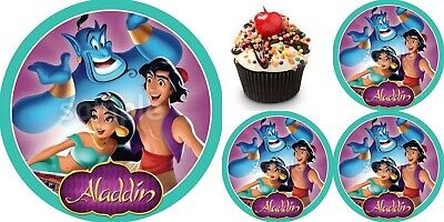 Aladdin Eßbar Tortendeko Tortenaufleger Party Deko Muffin Jasmin Geburtstag dvd ()