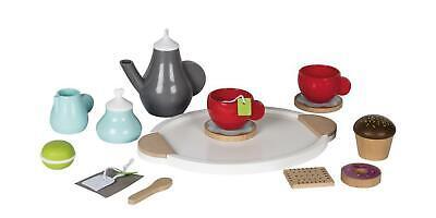Kinderspiel Tee-Set 15-teilig Küchenzubehörset Playtive Junior Kinderküche Tee