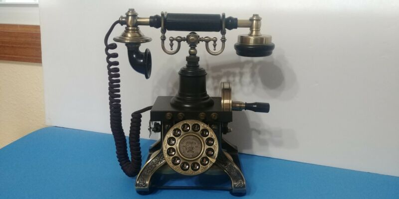 Parmount Electronics 1892 Skeleton Type Effiel Tower Crank Telephone Works Z3