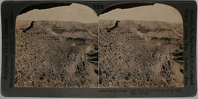 Keystone Stereoview Bright Angel Trail  Grand Canyon  Az 1910 S Education Set A