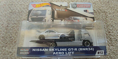 Hot Wheels 2019 Team Transport Nissan Skyline GT-R Nismo & Aero Lift Car Culture