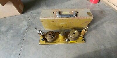Chandler Engineering 23-1 Dead Weight Tester Pressure Calibrator Used