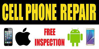 Cell Phone Repair Vinyl Banner Sign - Sizes 24 48 72 96 120 B