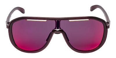 Oakley OO4133-05-26 Women's Crystal Raspberry/Prizm Road Single Lens (Oakley Shades For Women)