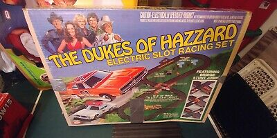 The Dukes of Hazzard Electric Slot Car Racing Set with