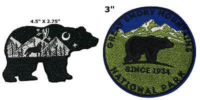 1fc9d4c0 National Park Series 2 Pcs Embroidered Patch Iron / Sew-on Souvenir Travel