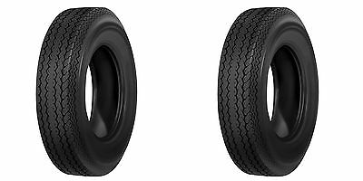 2 New Boat Trailer Tires 4.80-12 4.80x12 6Ply Rated Load Range C Tubeless