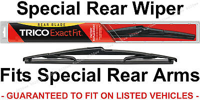 Trico 12 M 12  Rear Wiper Blade For Snap Claw Rear Arm Suv Wagon Crossover 12M