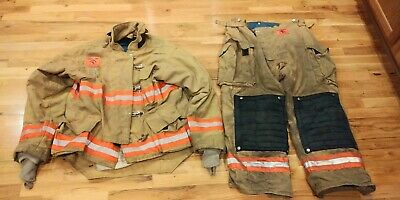 Tan Morning Pride Turnout Gear 46 Coat 40 Pants
