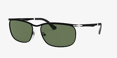 Persol Sunglasses model PO2458S 1078P1 62mm Black w/ Grey/Green Glass (Persol Models)