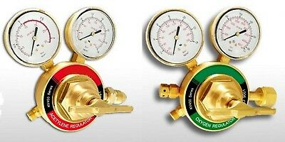 Oxygen Acetylene Regulator Set Medium Duty For Victor Cuttingwelding Regulators