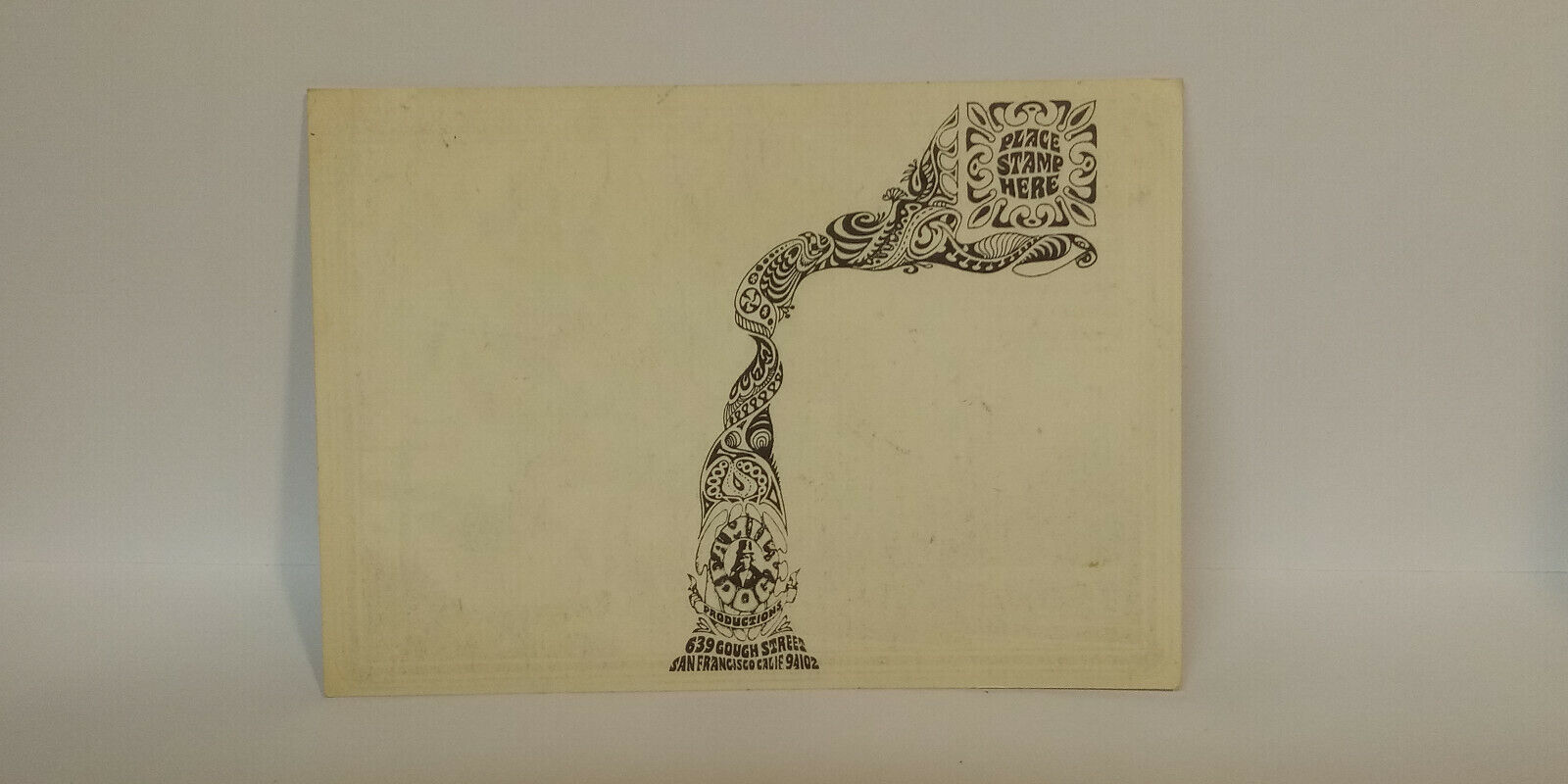 John MaYaLL Big Mama Thornton AVaLon BaLLrOOm FD137 1968 PoStcard - $9.95