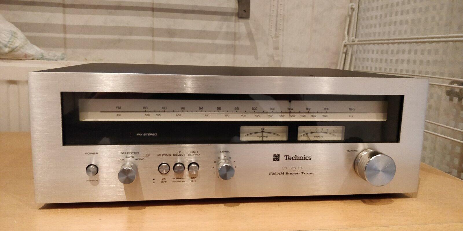 Technics ST-7600 AM/FM Stereo Tuner (1976-77)