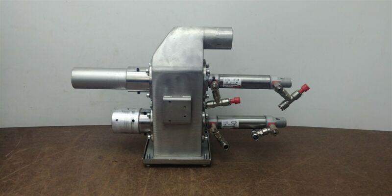 Piovan Dual Proportional Purge Valve Camozzi Pneumatic 40mm #311