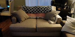 Beige Loveseat - Mint Condition - Free Delivery