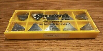 Newcomer 20482432 Carbide Turning Inserts Tpg-432 N60 Lot Of 10 Made In Usa