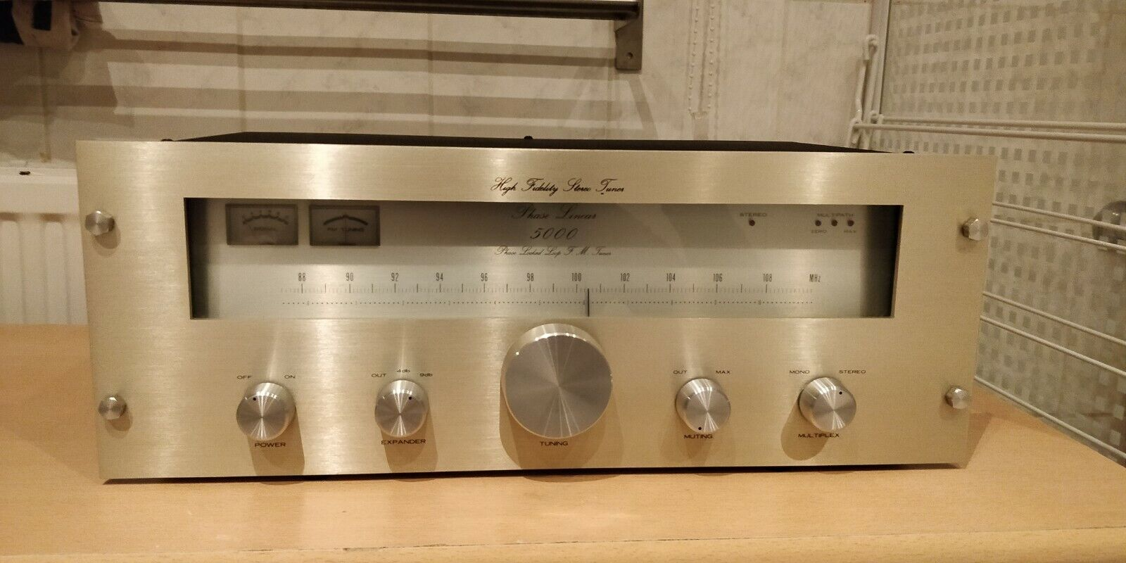 Phase Linear 5000 series one MK i   (1976-1978)