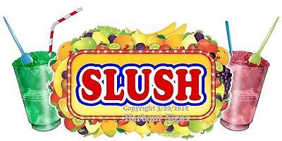 Choose Your Size Slush Decal Concession Food Truck Vinyl Sticker