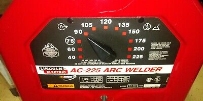 Lincoln 225 Arc Welder Accessories