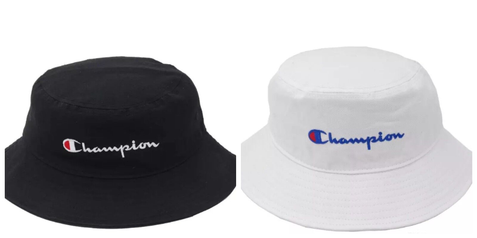 f51d8409 ... clearance 2018 champion bucket cap hat black white snapback free size  adjustable new 5333d 0e679