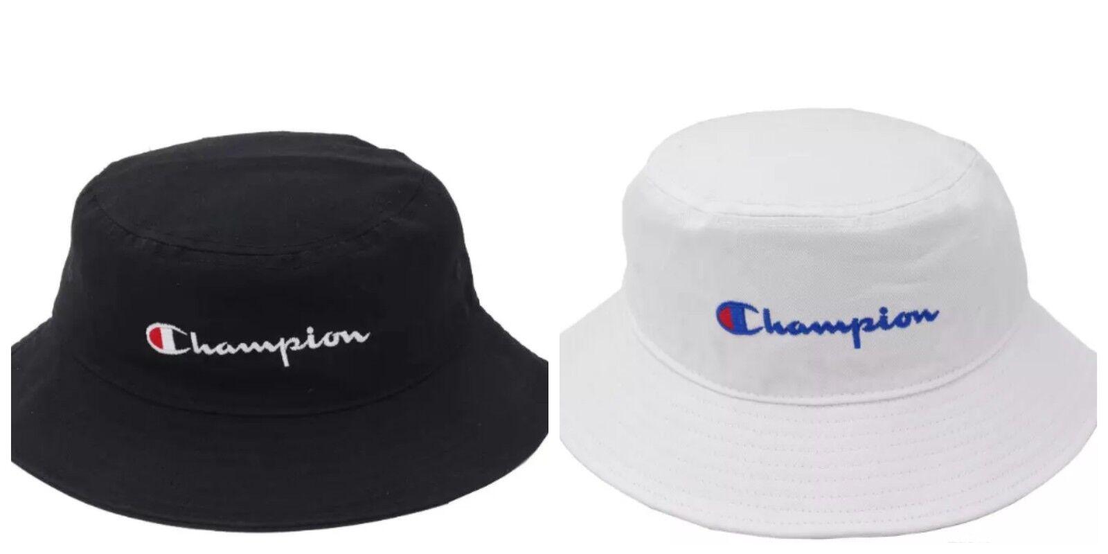 trampki różnie najlepsza cena Details about 2019 Champion Bucket Cap Hat Black White Snapback Free Size  Adjustable New