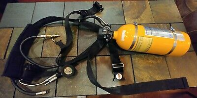 Nice Condition Luxfer Tc-sp 3263 M41a Wextra Scuba Emergency Air Tank 3000 Psi
