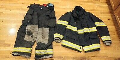 Black Globe Turnout Gear 42 Coat 38 Pants