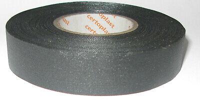 CERTOPLAST Cinta de Tejido 517 19mm X 25m Adhesiva Tela Tape Hasta...