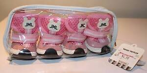 I PET JML PINK & WHITE PUPPY DOG SNEAKERS NEW IN PACKET SIZE 2 Ocean Reef Joondalup Area Preview