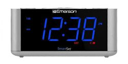 Emerson SmartSet Alarm Clock Radio, USB port for iPhone/iPad/iPod/Android and...
