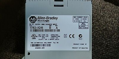Ab Allen-bradley Micrologix Dc Input Modules Plc 1762-iq16