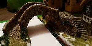 OO gauge Stone bridge and steps (suits faller/bachmann) 45mm high