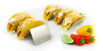 Nature's Kitchen 2-Pack Taco Holder Stand for Hard and Soft Shell Tacos