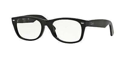 Ray-ban NEW WAYFARER RX5184 2000 50mm Shiny Black (Ray Ban Rx5184 Eyeglasses)