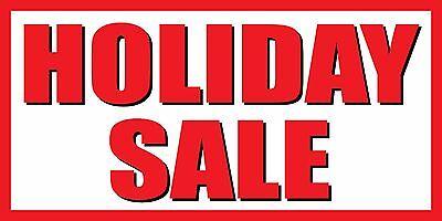 Holiday Sale - Vinyl Banner Sign - 24