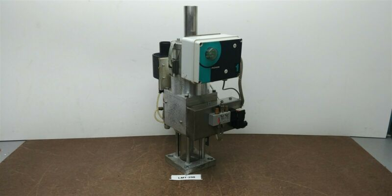 Piovan GR1 10kg Spec A038 Mini Hopper Vacuum Loader Glass Receiver 230v #298